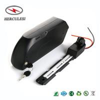 Batterie de Lithium de vélo électrique de 48V 1000W 750W Batterie de montage de DownTube de bâti de requin de tigre de requin 48V 15AH pour Ebike Yamaha moteur Bafang