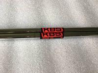 10PCS KBS جولة 90 الصلب رمح r / s المرن جولف الصلب رمح ل جولف الحديد والأوتاد