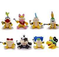 8Styles 15- 24cm  Bowser JR Larry Wendy Ludwig Morton Iggy Le...