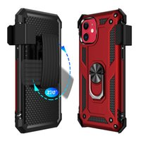 Nueva defensor híbrido para iPhone 11Pro 2019 XR XS Max 8plus S11 S11E S11plus A01 A71 A51 A21 moto g8plus Casos armadura cubierta con clip de cinturón
