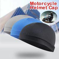 2019 gorras de ciclismo calientes que absorben la humedad casco de protección solar forro interior gorro de cúpula Sweatband # ZH