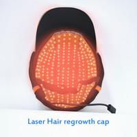 새로운 레이저 모자 머리 성장한 레이저 모자 다이오드 머리 손실을 처리 LLLT 레이저 머리 손실을 재성장 성장 치료 처리 기계