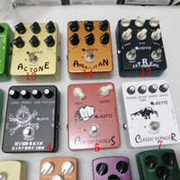 Педаль 4 Влияние гитары Выберите Distortion Overdrive задержки Echo Reverb Multi-эффекты Chorus Phase Volume Flanger Wah для всех гитар