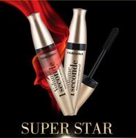 YANQINA العلامة التجارية 1 عيون قطعة ماكياج ماسكارا سوداء النساء يشكلن ماء الماسكارا الرموش الجمال مستحضرات التجميل أداة رموش بكرو.