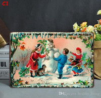 Weihnachten Vintage Metallblechschilder für Wand-Dekor Weihnachtsmann Weihnachten Wall Art Eisen Gemälde Metallschilder Blech Pub Bar Garage Home Decoration 953
