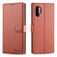 For Samsung Galaxy Note 10 Pro Case Luxury Business Leather ...