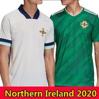 2020 Euro Northern Ireland Soccer Jerseys Away White 19 20 Euro Cup Evans Lewis Camicia da calcio Lafferty Washington Men Kit Kit Uniforme