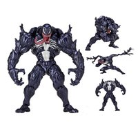 18cm Marvel Super Hero Spiderman Venom Action PVC Figure Doll Toys Modello Collectiable per bambini Regalo di Natale di compleanno