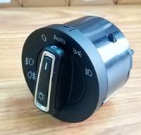 Nouvelle version Phare Switch Capteur d'éclairage automatique intégré pour VW Golf 6 mk5 MK6 Jetta 5 mk5 Tiguan Passat B6 Touran