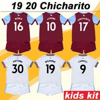 2019 2020 NOBLE Kids Kit Soccer Jerseys New CHICHARITO ARNAU...