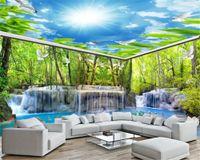 3d Полный дом фон стены обои мечта лес пейзаж декорации Гостиная Спальня украсить эко обои