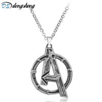 dongsheng Movie Jewelry Marvel's The Superhero Marvel Necklace Men Charms Necklace Men Gift -30