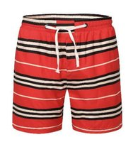 Online Men Striped Shorts Summer Beathable Cotton Boys Beach...