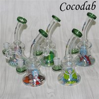 Glass Beaker Dab Rig Bong Heady Bongs Mini Water pipe Thick ...