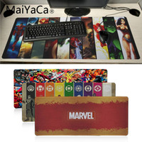 Maiyaca Marvel Comics heros Unico Desktop Pad Game Mousepad Gaming Mouse Pad Gamer Mouse Anime Tappetino per mouse mat Velocità Versione