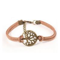 L'albero di braccialetti di vita di colore solido tessuto Bracciali Charms gioielli regali per gli altri Wrap Bracciali