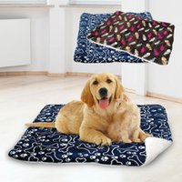 Winter Dog Bed Blanket Pet Sleeping Mat Warm Cat Dog Bed Cov...