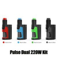 100% Original Vandy Vape Pulse Dual 220W Kit Vandyvape 2 186...
