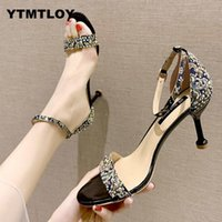 New Women Pumps Peep Toe Fashion Thin Heel High Heels Shoes ...