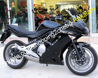 Für Kawasaki-Verkleidung ER-6F ER6F ER 6F Ninja 650R Sport Motorbike Black Kit Motorrad Set 2006 2007 2008 06 07 08 (Spritzgießen)