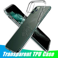 Thin Ultra-Slim Fit Cristal Gel transparent TPU souple Phone Clear Case pour iPhone 11 Pro Max Xs Max XR X 8 7 plus 6S