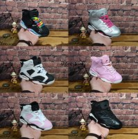 New kids 6 baby small kids basketball shoes for sale 6S Infa...
