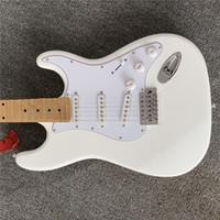 Kostenloser ShippingTop Qualität Neue Ankunft St Gitarre Weiß E-Gitarrengitarren Guitarra