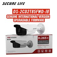 Free shipping English version DS- 2CD2T85FWD- I8 8MP H. 265+ CC...