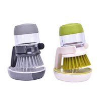 1PC Reinigungsbürsten Dish Washing Werkzeugseifenspender nachfüllbar Pfannen Cups Brotschüssel Scrubber Küchenwaren Accessoires Gadgets
