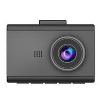 """4K 140 gradi ampia lente Dash macchina fotografica DVR con schermo supporto 3"""" G-sensore H.265 WiFi"""