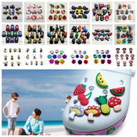 MOQ=100PCS Hot Cartoon PVC Shoe Charms Shoe Buckles Fit Brac...