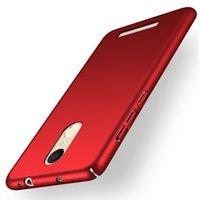 Pour Xiaomi redmi Note 3 Pro Special Edition Case 360 Slim dur Matte PC Retour couvercle du boîtier pour Mi redmi Note3 SE 152mm