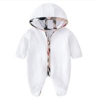 Macacões de bebê primavera outono bebê menino roupas Novo romper algodão recém-nascido meninas crianças designer adorável ganhos infantis conjuntos de roupas