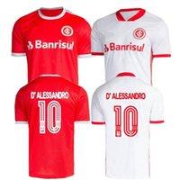 2020 Jersey de football RS Internacional 20/2021 # 9 Guerrero Potker Uniforme Mens Sport Club Internacional d'Alessandro Terrain de football Edenilson