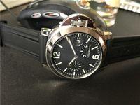 حار بيع الرجل ووتش الفولاذ المقاوم للصدأ ساعة يد فاخرة عارضة الميكانيكية الرياضية التلقائي جديد الساعات الزجاج الشفاف PA01