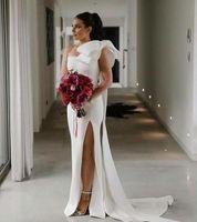 Vestidos élégants modestes robe de bal de luxe sexy cocktail courte robes de cocktail grand arc sur l'épaule robe de soirée