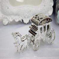 Styles européens bonbonnières Romantique transport voiture mariage faveur Porte-chocolat Coffrets cadeaux souvenirs de mariage pour soirée de mariage Décorations