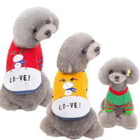 Christmas Dog Clothe Snowman Winter Warm Santa Pet Apparel D...