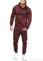 Survetement Solid Color Track Suit Jogging Suits Men Pantalon de survêtement Mens Designer Tracksuits