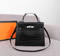 Bolsas femininas bolsa Kaly totes bolsa de crocodilo padrão mulheres moda Hamz saco bolsa das senhoras bolsas bolsas de alta qualidade