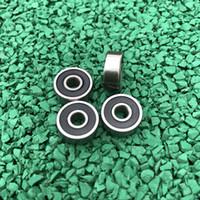 500 teile / los hohe qualität 626-2RS 6x19x6 miniatur gummi versiegelt rillenkugellager 626 2RS 626RS 6 * 19 * 6mm