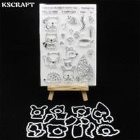 Venta al por mayor Fall Friends Metal Cutting Dies Stamp para DIY Scrapbooking / álbum de fotos Decorativo Relieve DIY Tarjetas de papel 210