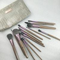 2020 NEW Maquillage Markenqualität Verfassungs-Bürsten-15PCS / Set Pinsel mit PU-Beutel Profi-Bürste für Powder Foundation Blush Lidschatten dhl