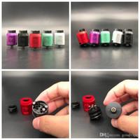 Обновить V1.5 RDA Clone Rebuildable атомизаторы для капель 5 доступных цветов с широким капельным наконечником, подходят 510 VAPES E сигарет MODS DHL Бесплатно