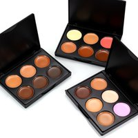 Hot Full Cover 6 Colors Concealer Palette Facial Face Contou...
