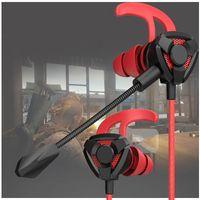 G6 / G9 Headphone capacetes para Pubg PS4 csgo Casque Games Gaming Headset Fone de ouvido 7.1 Com Mic Volume Control PC Gamer Earphones