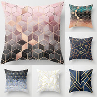 Geometric Pillowcase Cushion Soft Printed Throw Pillow Case ...