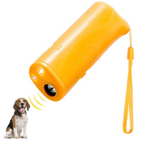 Ordinateur de poche Dog Repellent formateur, 3 en 1 Anti Dispositif Barking avec poche à DEL, Dog ultrasons Deterrent et Stopper Bark Dog Dispositif formateur