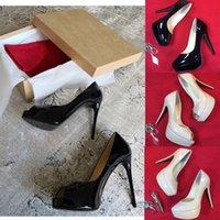 럭셔리 디자이너 여성 빨간 바닥 신발 플랫폼 가죽 지적 발가락 여성 펌프 높은 발 뒤꿈치 샌들 신발 웨딩 파티 신발 크기 35-41