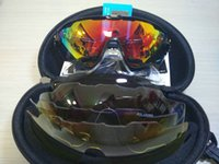 4 Lens Jawbreaker Cycling Eyewear Polarized Cycling Sunglass...
